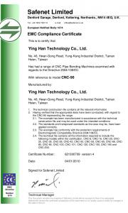 YLM-CNC-90-EMC-Certificate-v5