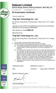 YLM-FM63-A2-EC-Certificate-v5