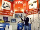 Prezentacja giętarki na Targach MSV w Brnie 2015